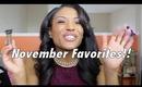 November Favorites!