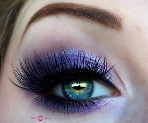Haven't done a full purple makeup look in quite some time! Now, we can start gettin' creative with the tutorials, as this look has been canned for 3 days! Stay tuned.  http://theyeballqueen.blogspot.com/2016/09/quick-purple-smokey-eye-makeup-tutorial.html
