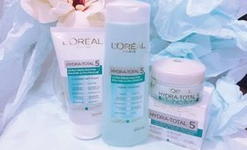 L'oreal Hydra Total 5 Vox Box Unboxing