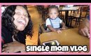 Taking My Baby Out to eat! + Teething baby hack | Single mom Vlog