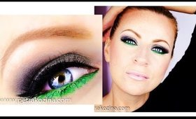 Emerald Green Fall Makeup Tutorial