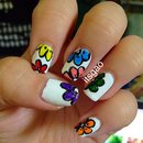 Flower Power!! Nail Art