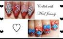 Sweet Bow Gyaru Nails: Collab with MadJennsy ♡
