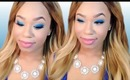 Cold as Ice | True Blue Glitter Eyes Makeup Tutorial