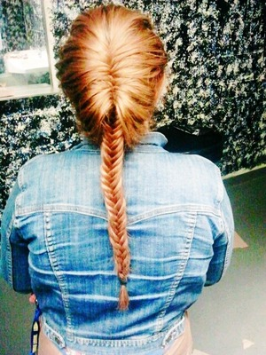 My version of the classic fishtail braid!