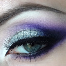 Purple with a hint of shimmer
