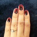 Queen of Hearts nails with Ariane P.