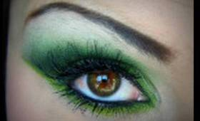 Lucky Greens - St. Patrick's Day Makeup