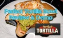 As Seen on TV - Perfect Tortilla Pans.  Review and Demo on my quick and easy Taco Salad