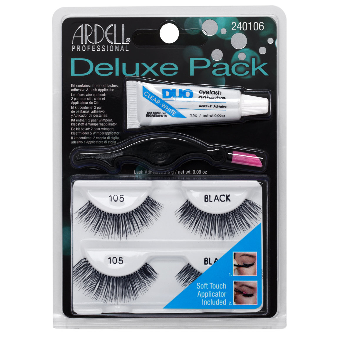 Ardell Deluxe Pack  105 Black