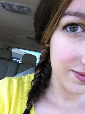 Perfect fishtail braid!