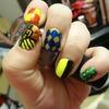 Harry Potter Hogwarts Nails