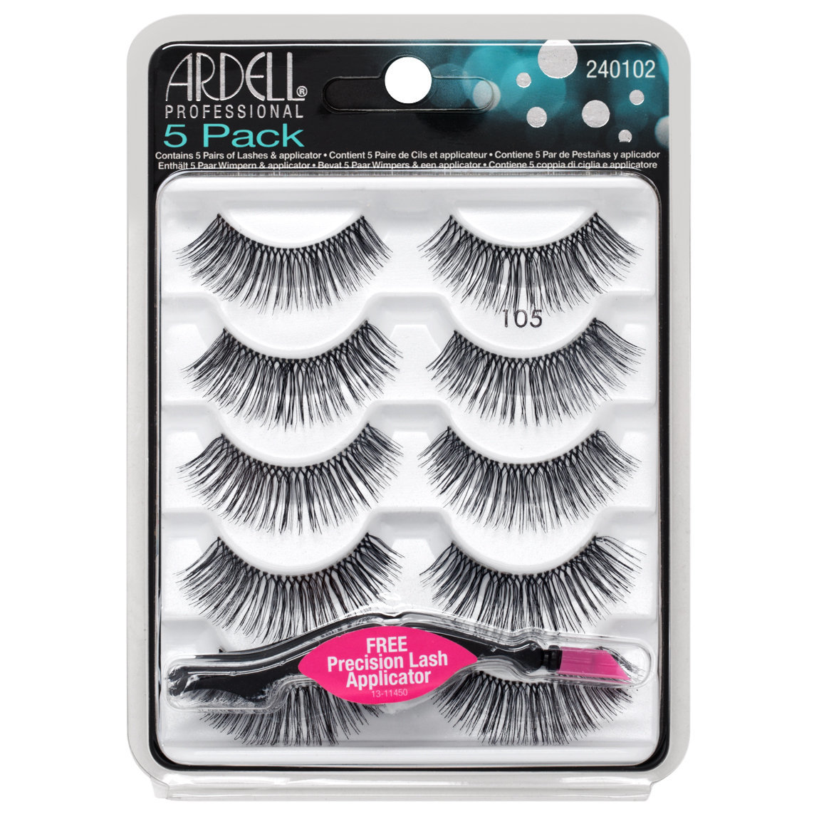 Ardell 5 Pack Natural 105 Black