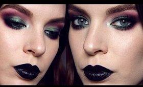 Makeup Tutorial: Purple & Green Smokey Eye