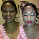 Bridal Makeup by Me!!!