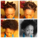 Bantu knot out on 4a/4b hair