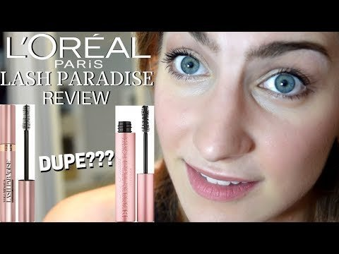 2eb8ee3ed80 NEW L'OREAL LASH PARADISE MASCARA REVIEW   Too Faced Better Than Sex Dupe?