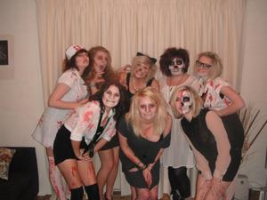 Halloween - me and my lovely models!