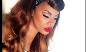 Vintage Beauty 1950s Pinup NYX Face Awards