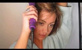 How I Blow Dry & Straighten My Hair & Products I Use