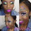Makeup on Gia Fields!!!