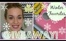 500 SUBSCRIBER GIVEAWAY!!! Winter Favorites 2014 | Beautifully You! Episode 09