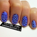 Anna Sui Inspired Nails