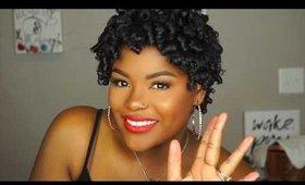 Perm Rod Set Ft. Creole Belle Organics | Shakirah Glam Artist