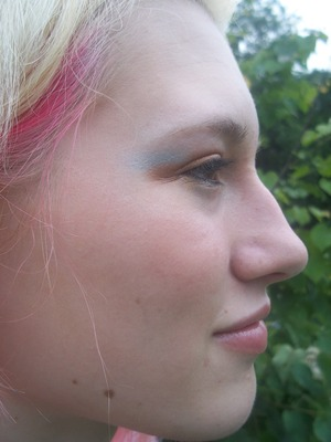 Julia, right profile. I did my bff up with some of my makeup