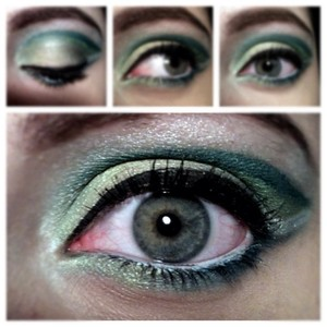Inspired by green hills. For the cut crease intense