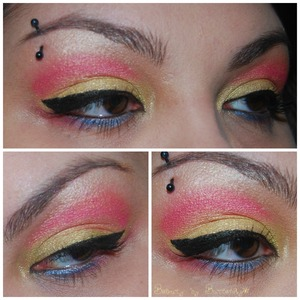 An inspired X-Men look, one of my favorite characters, Jubilee!