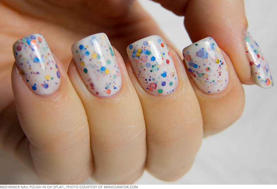 Makeup Makers: Indie Nail Line KBShimmer Develops the Glitter Nail ...