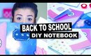 Back to School DIY Notebook Covers