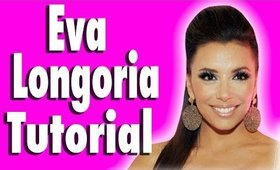 Get The Look: Eva Longoria Sultry & Smokey Eye Makeup Tutorial