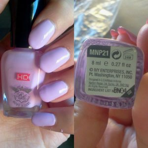 High Definition Ruby Kisses Nail Polish in MNP21 Miss Sporty Base and Top Coat Miss Sporty Turbo Dry Top Coat