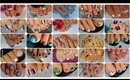 25 Toenail Art Designs Compilation ♥