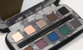 NEW!! Urban Decay Smoked Palette Review!