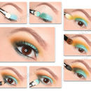 Makeup Tutorial With Lime Crime China Doll Palette