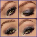 Colored Smokey Eyes