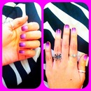 Purple Ombrè