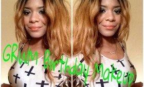 GRWM Birthday Makeup