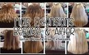 Before & After Hair Extensions Portfolio 2015/2016 | Instant Beauty ♡