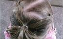 Toddler Hairstyles: Hair Half Up Bun