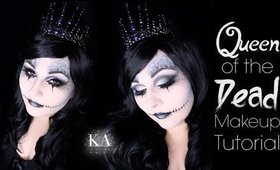 Queen of the Dead Halloween Makeup Tutorial - 31 Days of Halloween