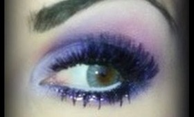 Holiday Party Makeup - Purple