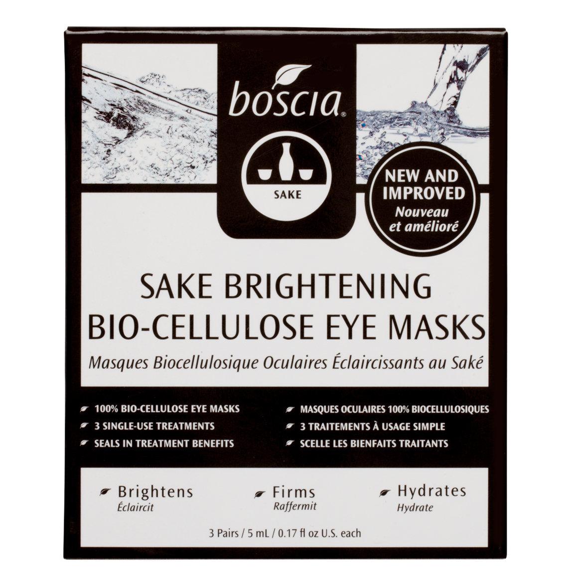 boscia Sake Brightening Bio-Cellulose Eye Masks product swatch.