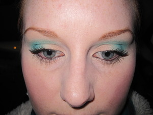 NYX All I've Ever Wanted palette. I love green :)