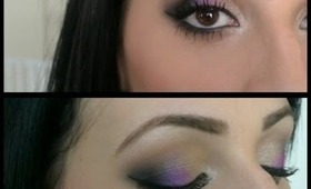 Smokey Eye With A Pop Of Color