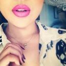 pretty pink lips