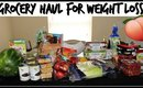GROCERY STORE HAUL FOR WEIGHT LOSS   ALDI & WALMART